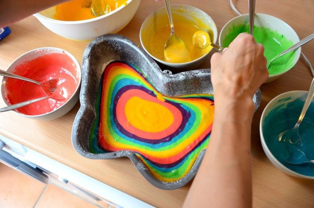Regenbogen Schmetterlingskuchen Rezepte Fur Familien Kreatives