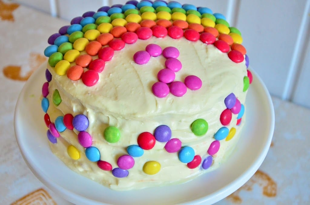 Rezept Regenbogentorte Rezepte Für Familien Kreatives Essen
