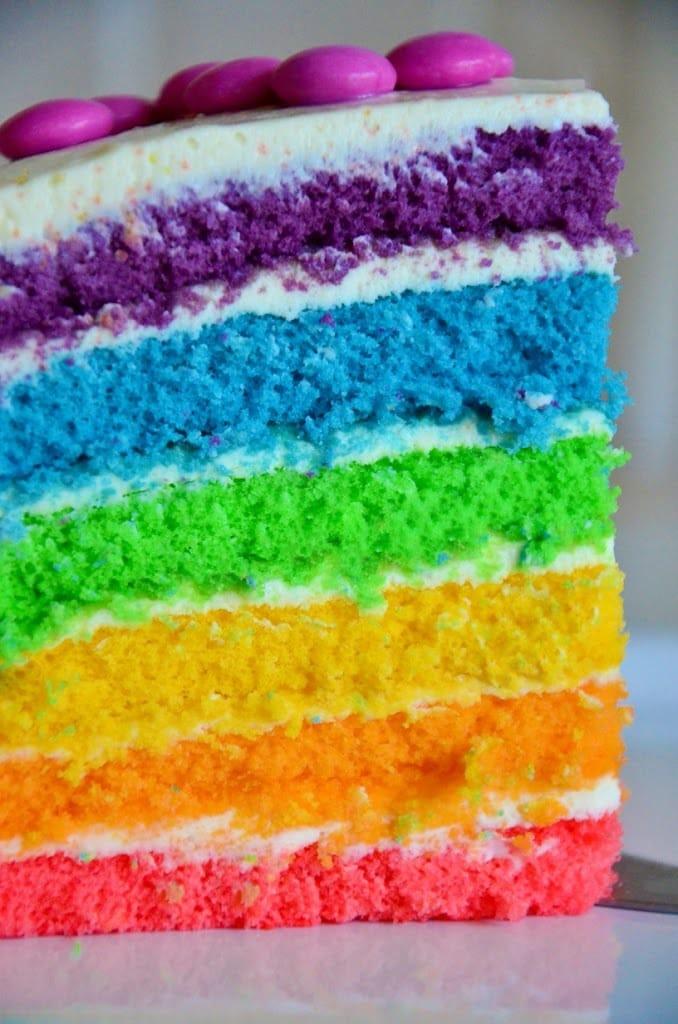 Rezept Regenbogentorte Rezepte Fur Familien Kreatives Essen