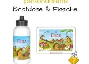 Emufarm Brotdose & Flasche
