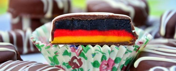 Deutschland-Pralinen WM-Pralinen
