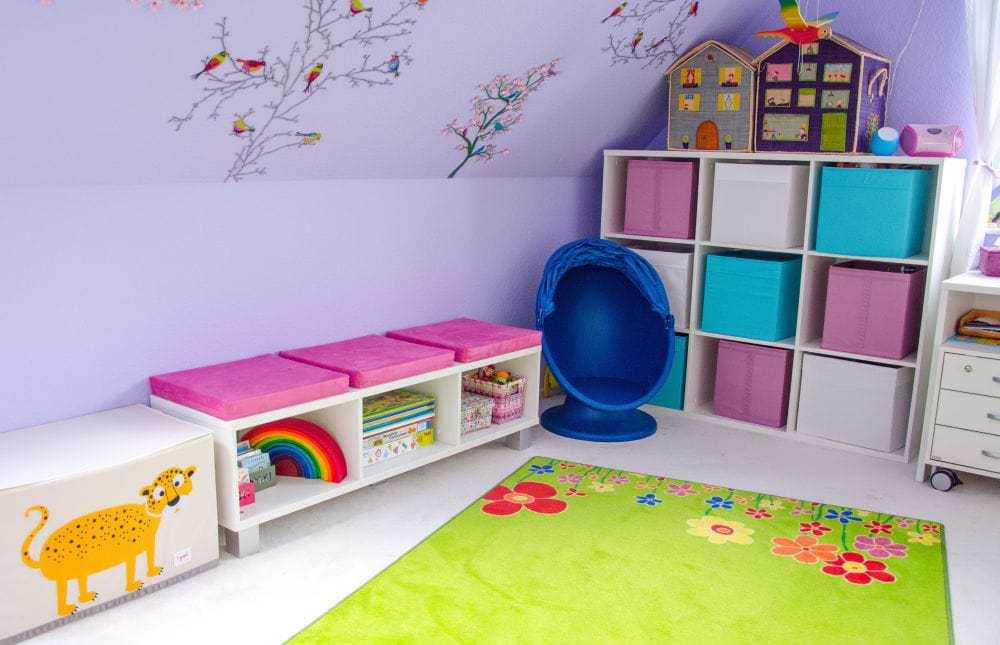 Unsere kinderzimmer interior familienleben baby kind for Kleines kinderzimmer