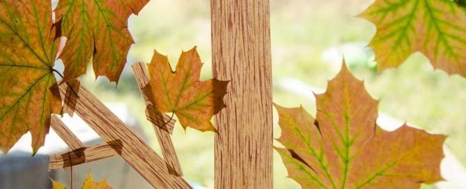 Masking Tape Herbstbaum 15