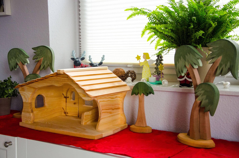 Elegant krippe spielzeug selber machen tierspielzeug - Weihnachtsdeko kinderzimmer ...