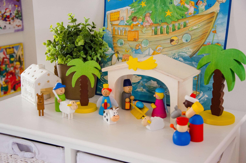 Unsere weihnachtsdeko kinderzimmer co familie baby kind und meer - Weihnachtsdeko kinderzimmer ...