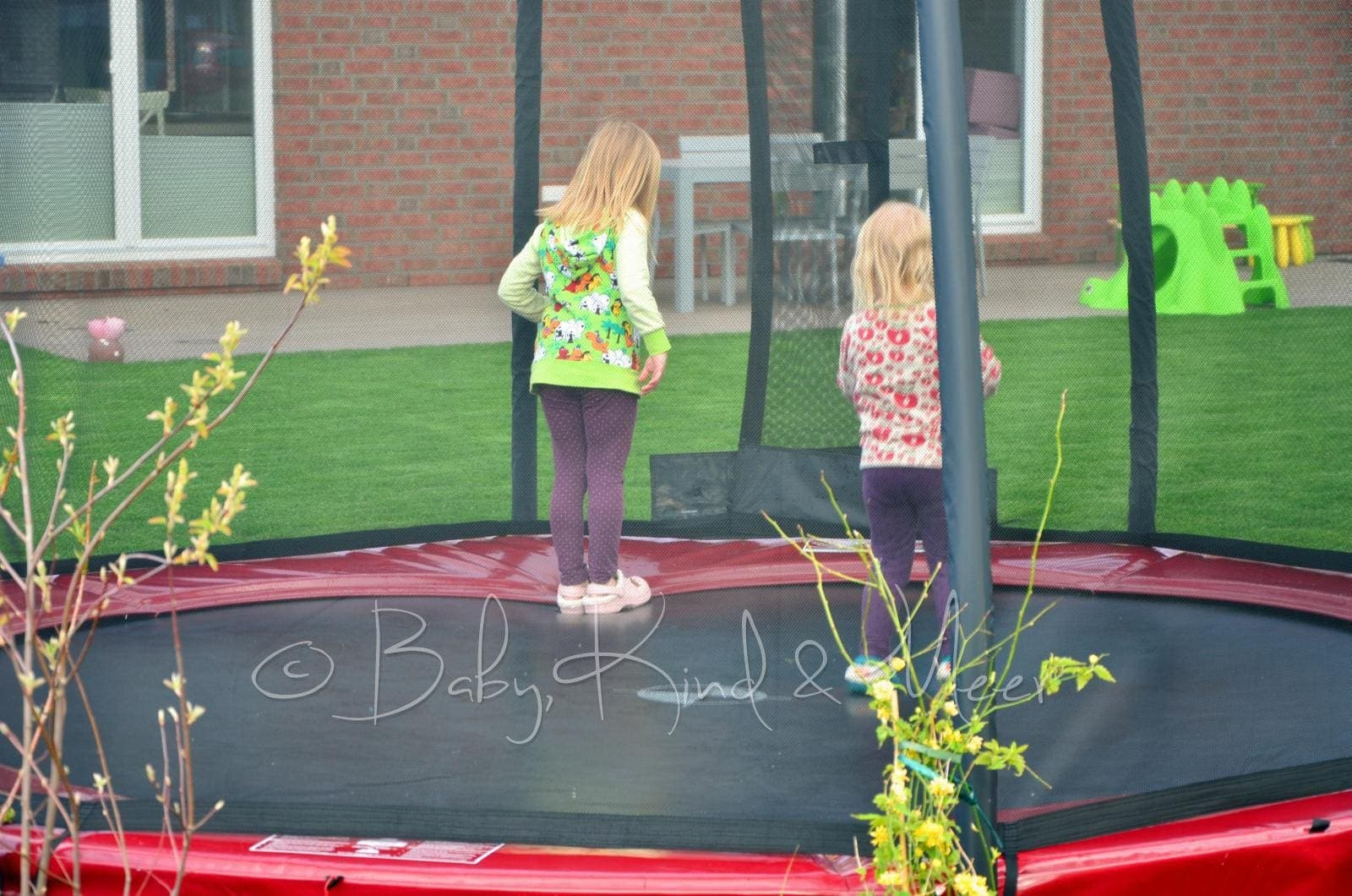 Unser Bodentrampolin Faq Hausbau Garten Baby Kind Und Meer
