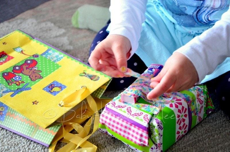Geschenke einpacken 3