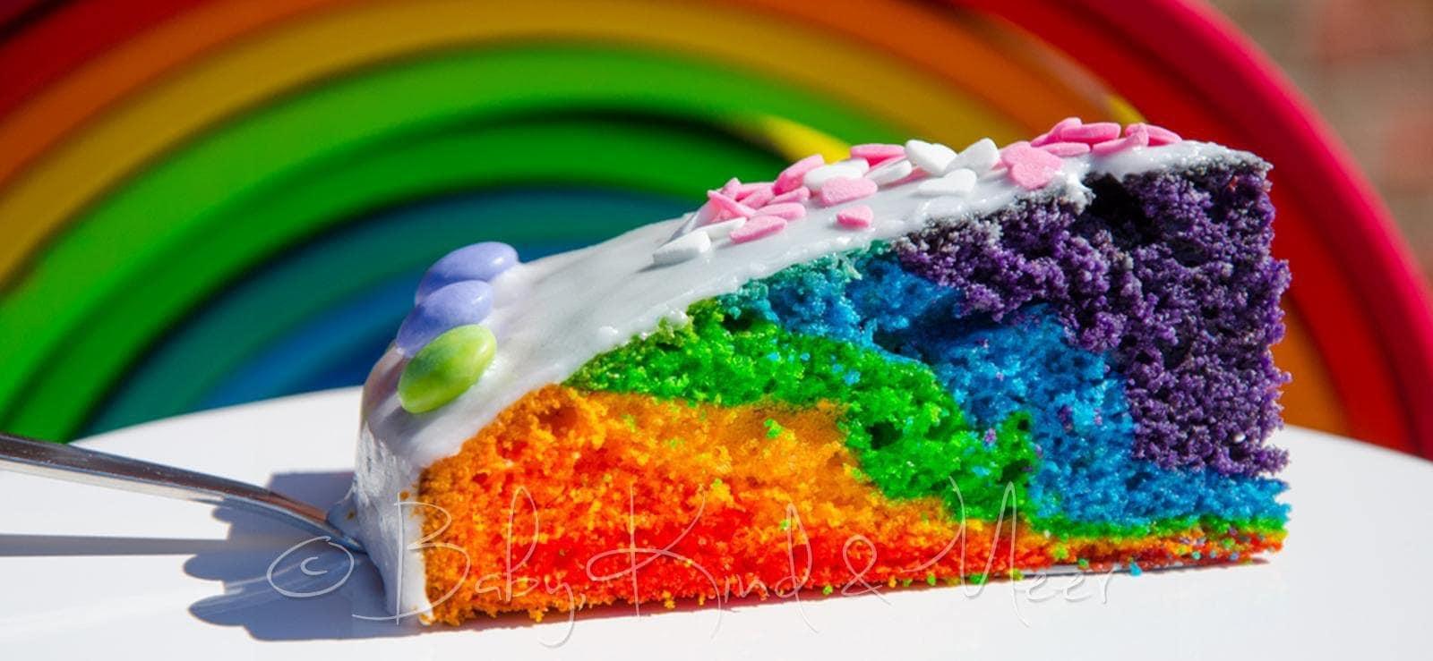 Ein Neuer Regenbogenkuchen Rezepte Fur Familien Kreatives Essen