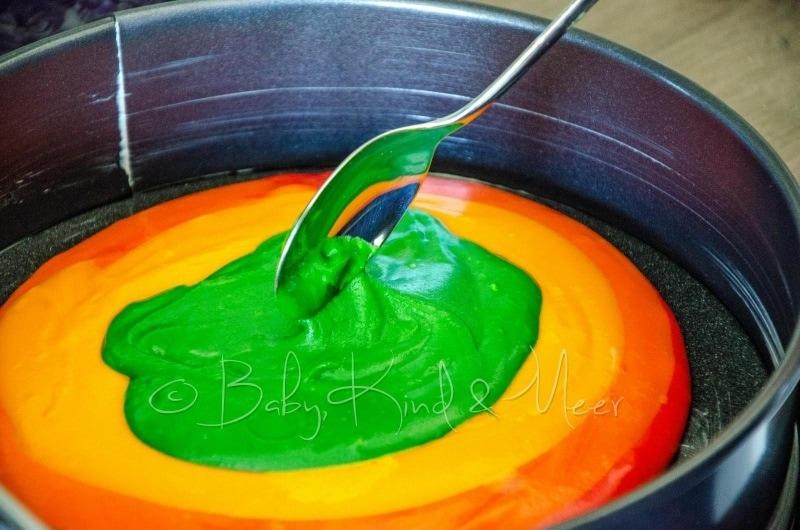 Regenbogenkuchen Rezept 7