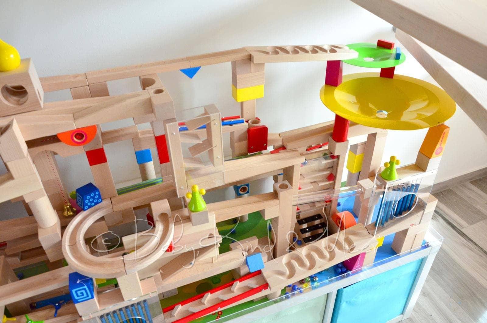 Spieltisch Selber Bauen diy ein haba kugelbahn spieltisch spielzeug diy baby und
