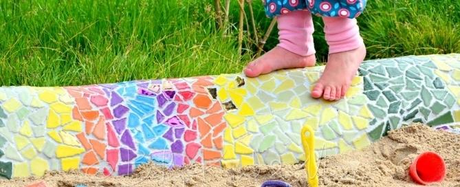 Lotte Auf Der Mosaik Schlange