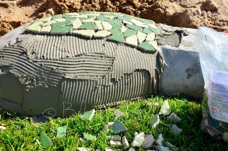 Mosaik Schlange (3)
