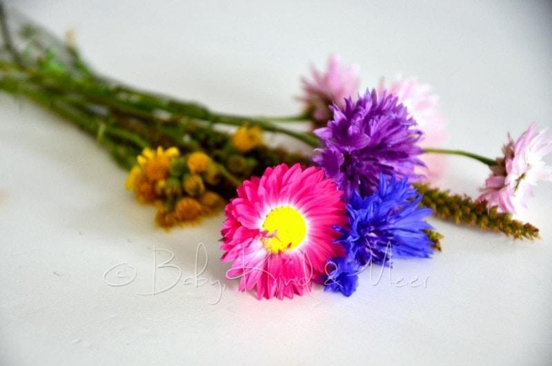 Blumenstraß von Lilli und Lotte