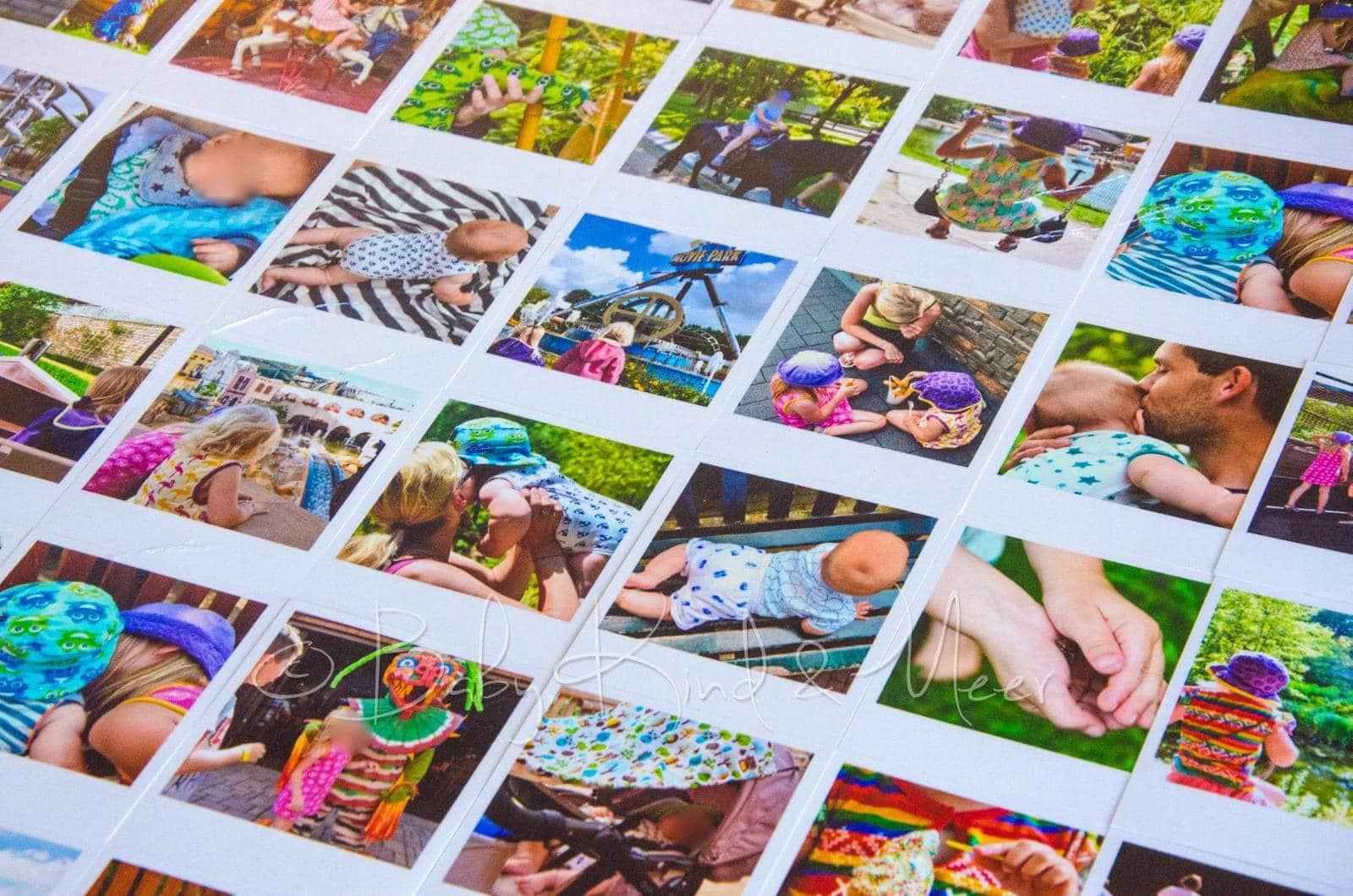 urlaubserinnerungen diy polaroid collage do it yourself baby kind und meer. Black Bedroom Furniture Sets. Home Design Ideas