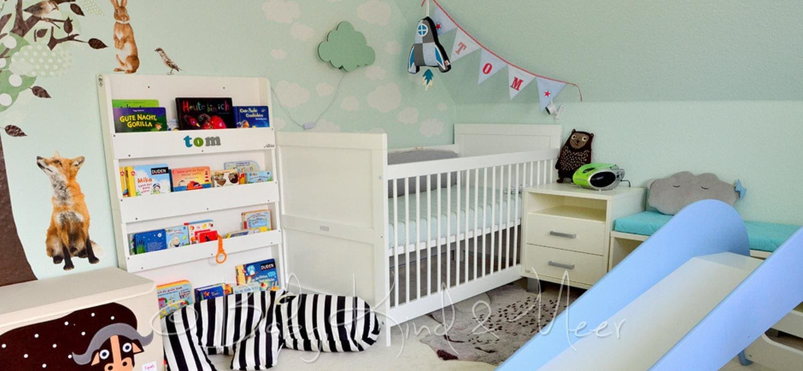 toms kinderzimmer roomtour familienleben kinderzimmer co baby kind und meer. Black Bedroom Furniture Sets. Home Design Ideas