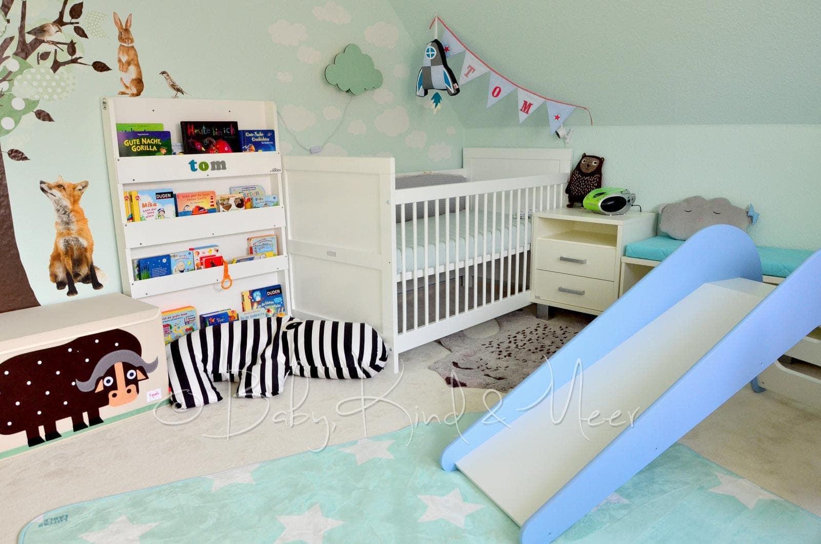 toms kinderzimmer roomtour family living interior baby kind und meer. Black Bedroom Furniture Sets. Home Design Ideas
