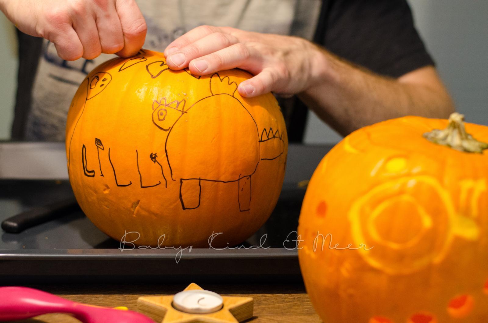 Ziemlich Einfache Halloween Kürbis Carving Muster Fotos ...