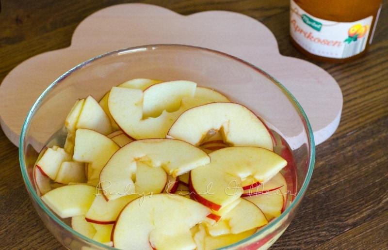 Apfel Rosen backen (4)