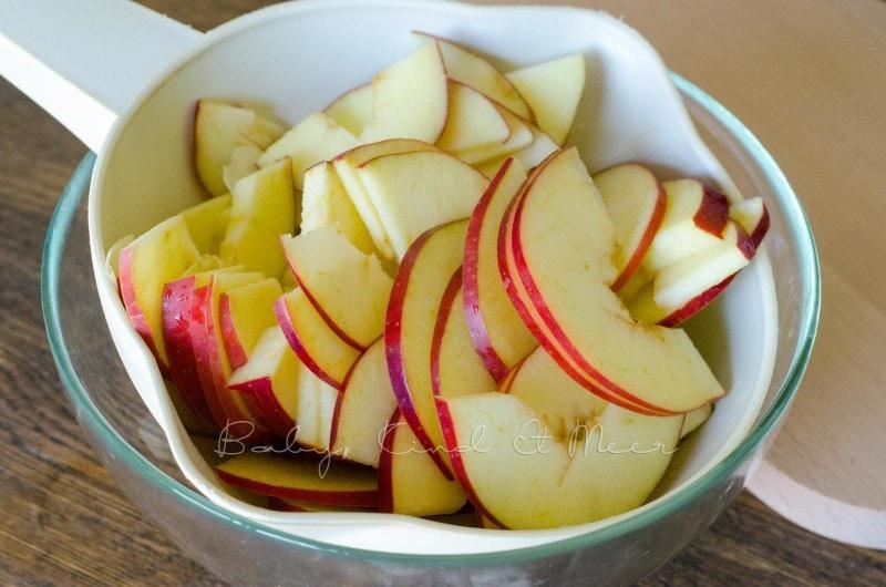 Apfel Rosen backen (5)