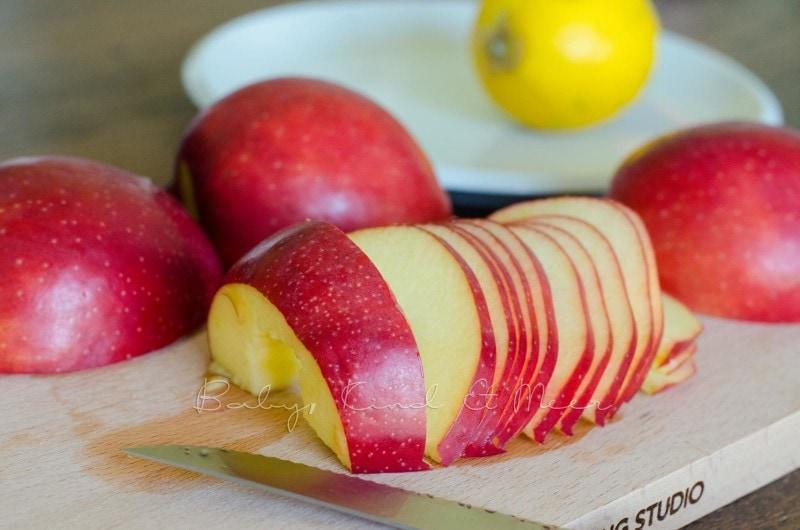 Apfel Rosen backen