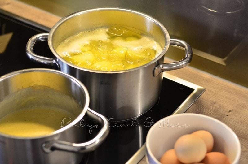 Senfeier kochen (2)