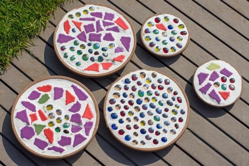 Mosaik Dekoplatten (12)