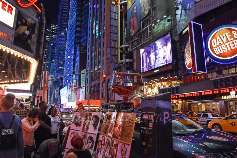 Times Square bei Nacht (3)