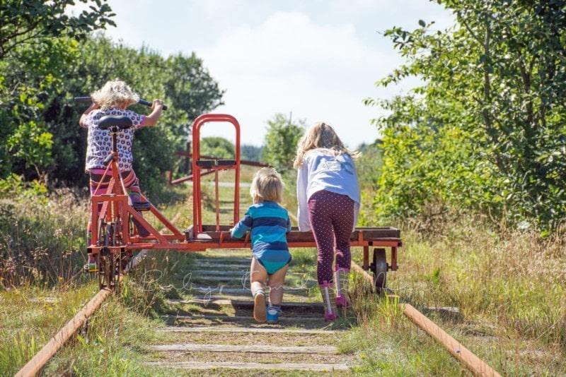 Ausflug Schienenfahrrad