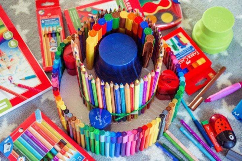 Torte aus Stiften (4)