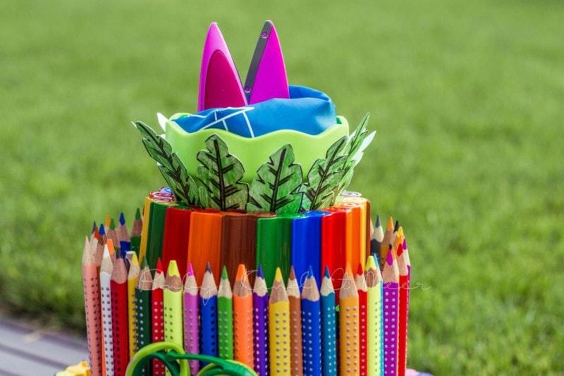 Torte aus Stiften (7)