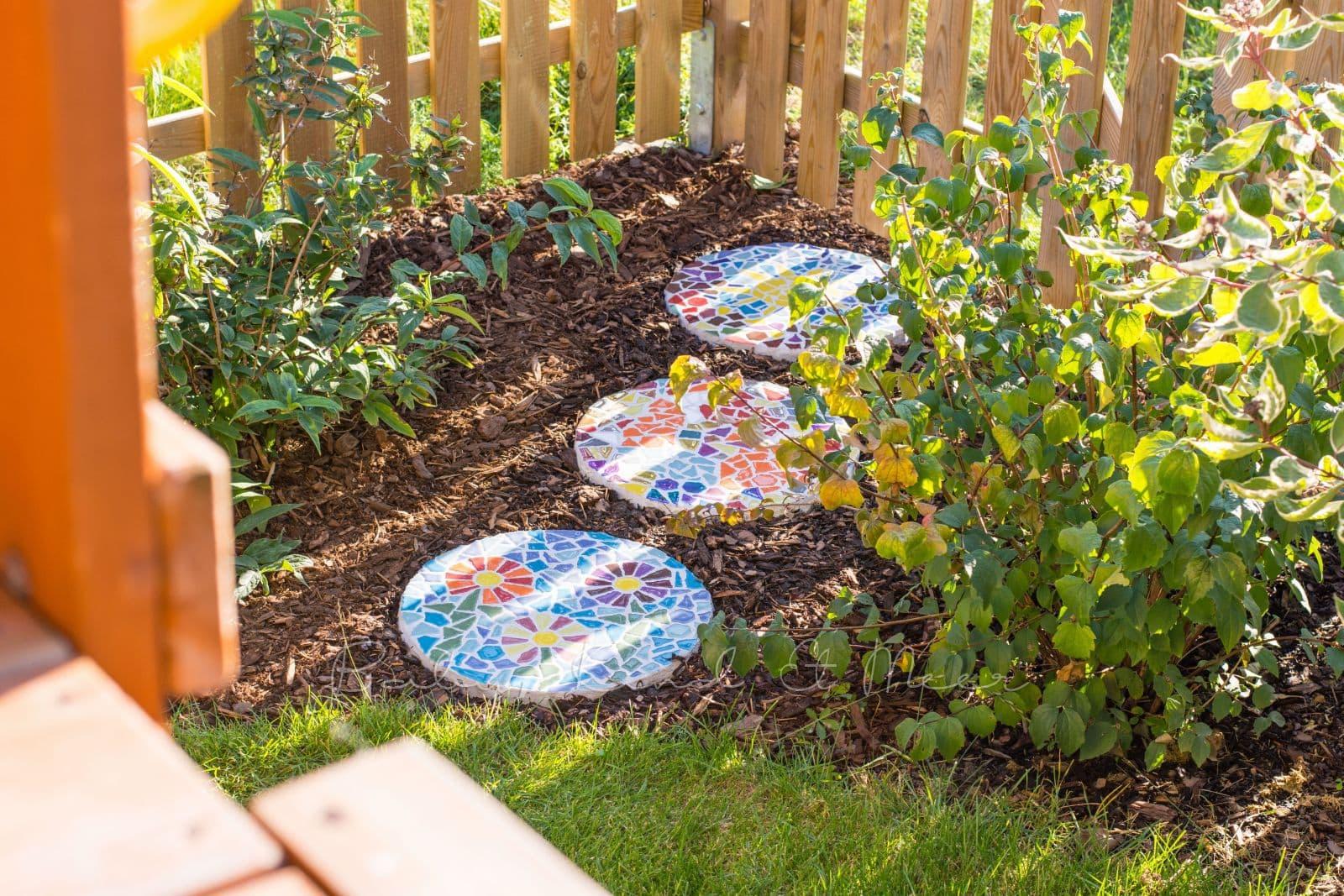 diy: mosaik-gehwegplatten fÜr den garten - hausbau & garten, diy
