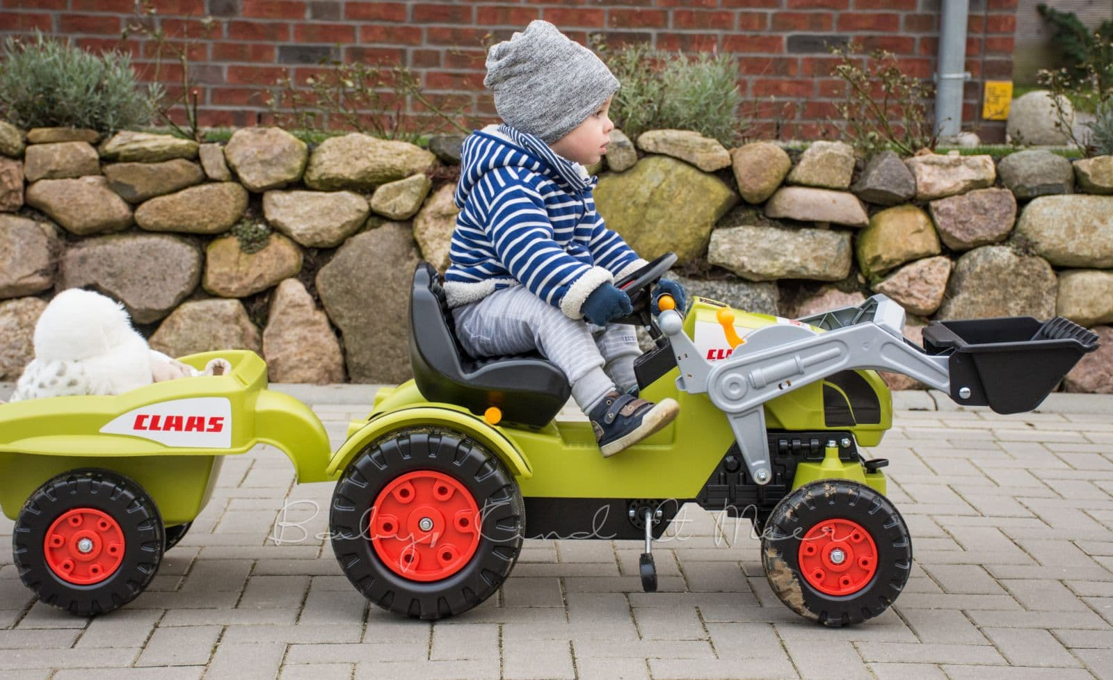 Mit dem traktor unterwegs verlosung spielzeug baby
