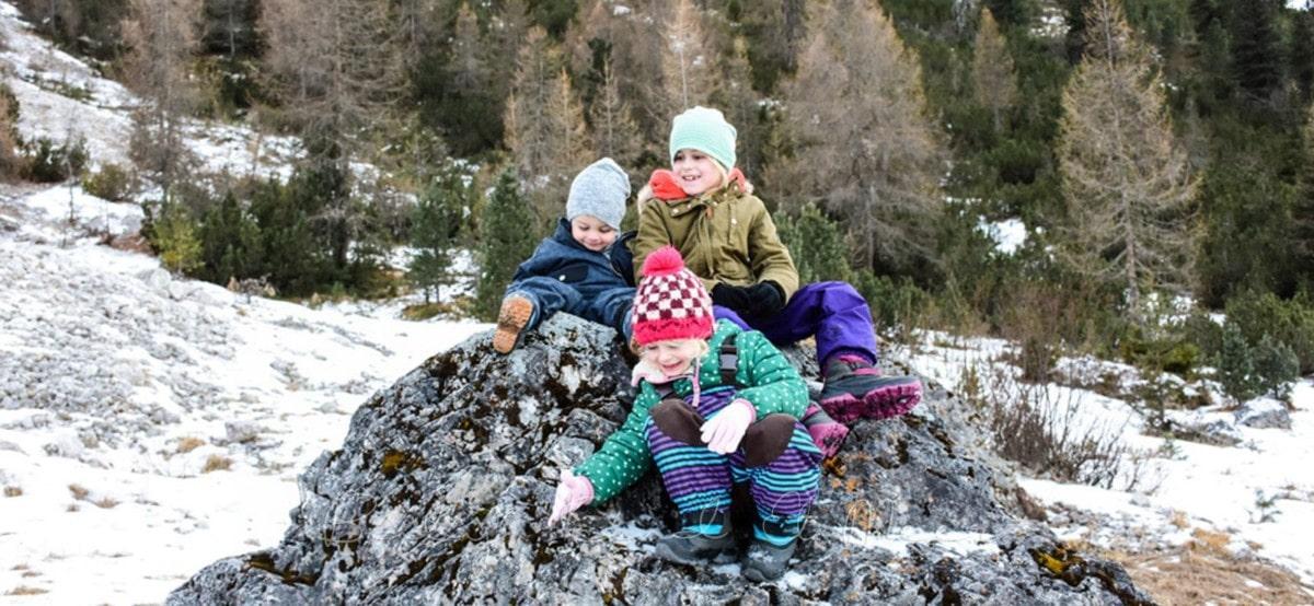 Urlaub in den bergen mit kindern