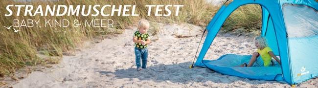 Strandmuschel Test