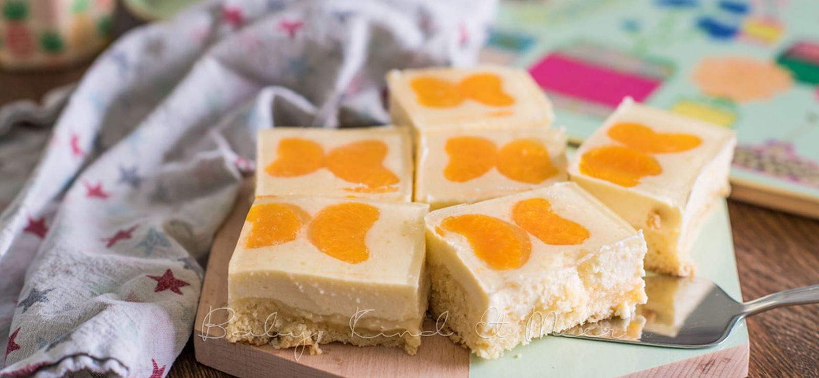 Rezept Quark Mandarinen Blechkuchen Rezepte Fur Familien Baby
