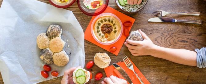 Obela Hummus Familienessen