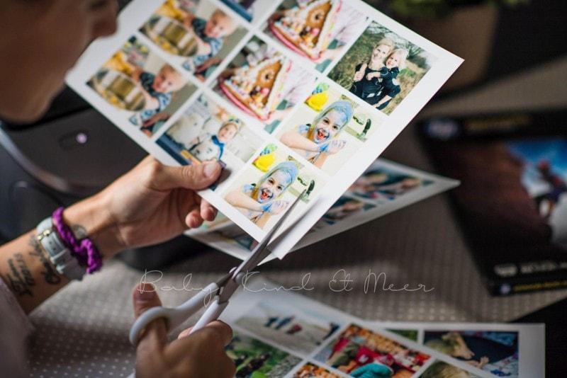 Fotomemory Basteln Mit HP Drucker 2