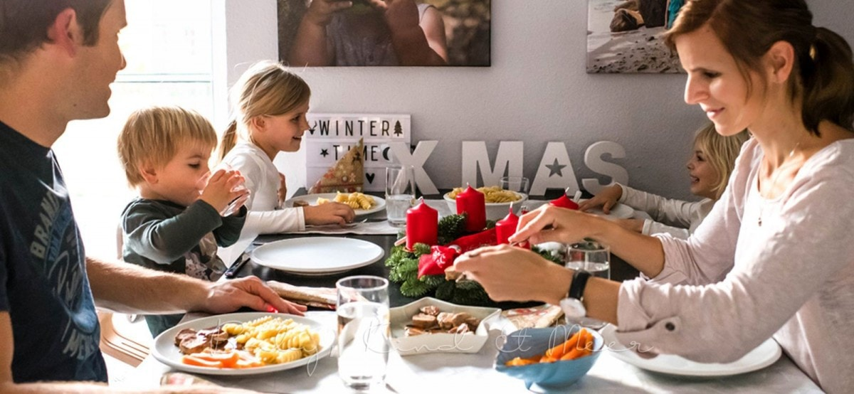 Familie Weihnachtsmenu 2