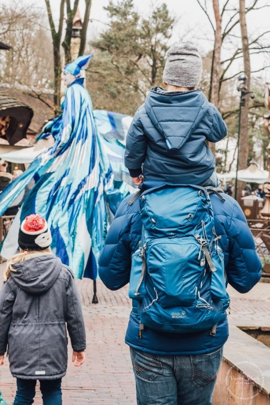 Efteling Freizeitpark Winter Silvester 10