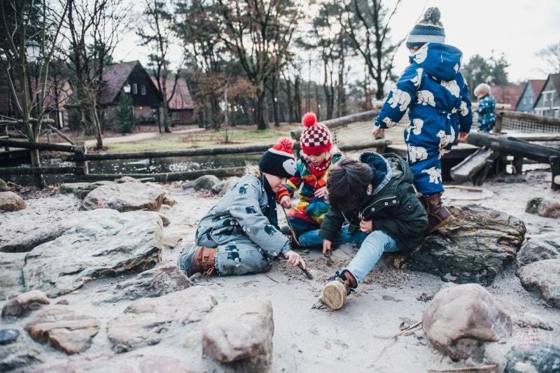 Efteling Freizeitpark Winter Silvester 70