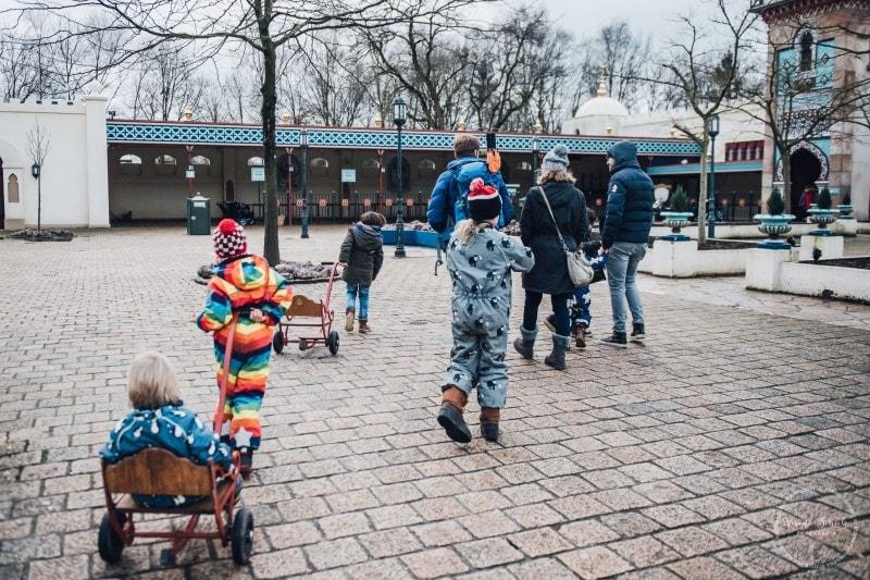 Efteling Freizeitpark Winter Silvester 71