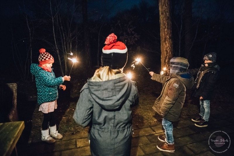 Efteling Freizeitpark Winter Silvester 82