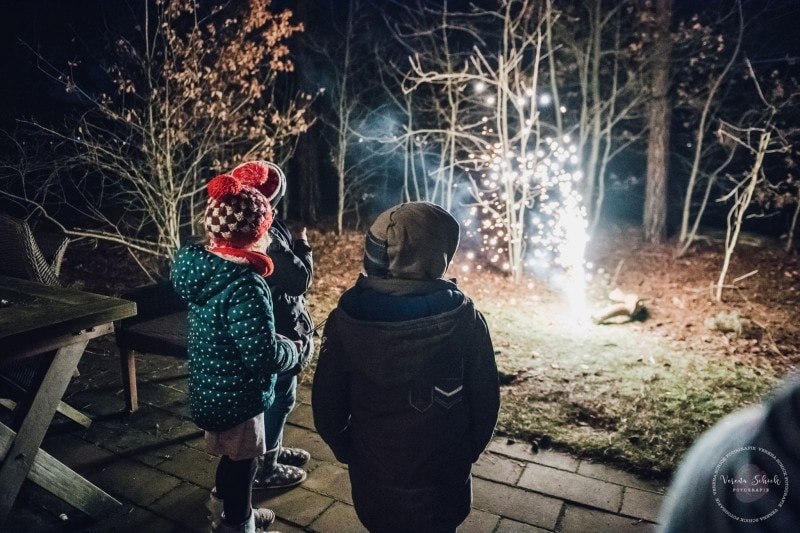 Efteling Freizeitpark Winter Silvester 89