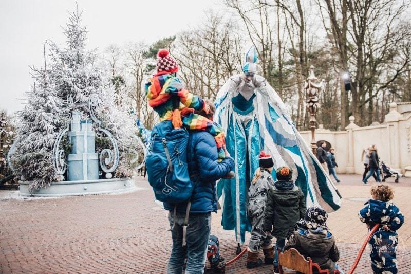 Efteling Freizeitpark Winter Silvester 96