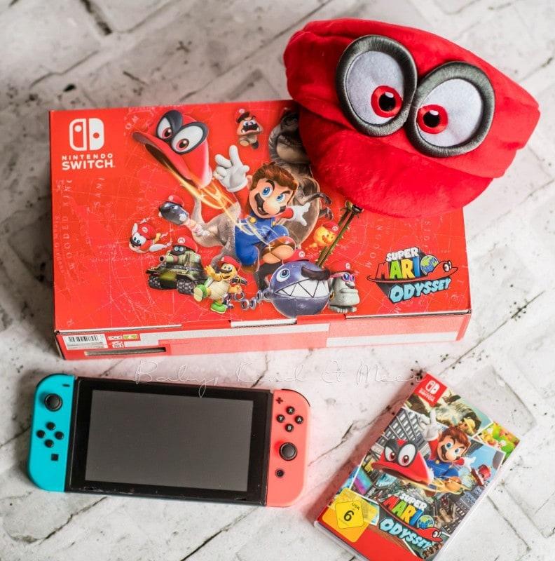 Gewinnt Eine Nintendo Switch Mit Mario Odyssey Spielzeug Baby