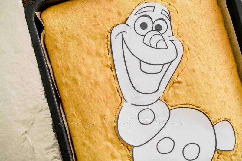 Die Eiskonigin Olaf Kuchen Rezepte Fur Familien Kreatives Essen