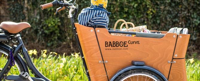 Babboe Curve E Lastenrad