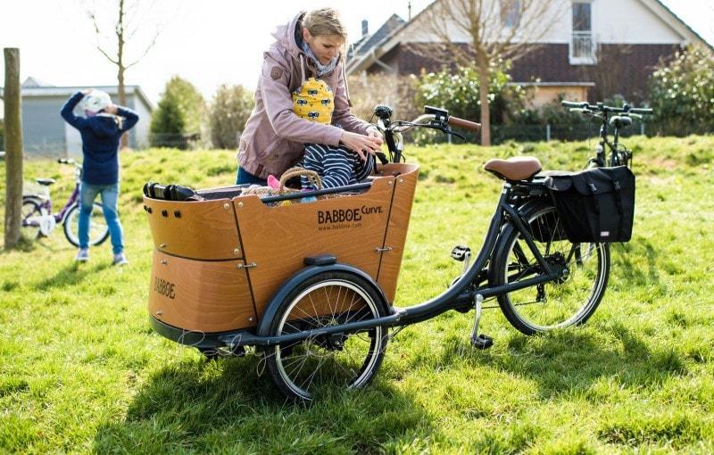 Fahrradtour mit Babboe Curve E Lastenrad 11