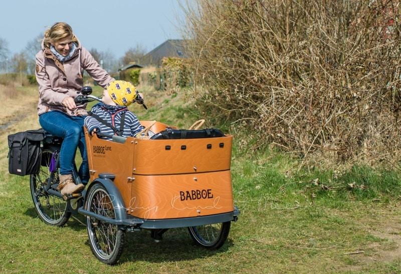 Fahrradtour mit Babboe Curve E Lastenrad 12