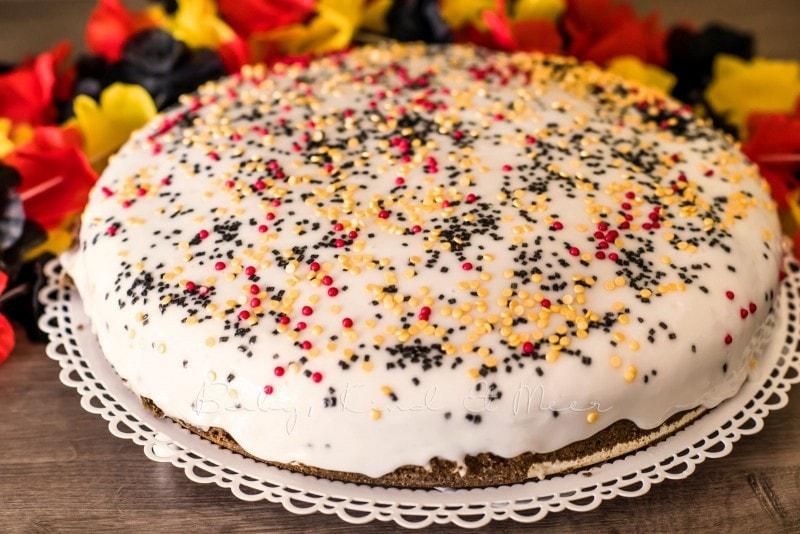 Deutschland Kuchen Regenbogenkuchen 16